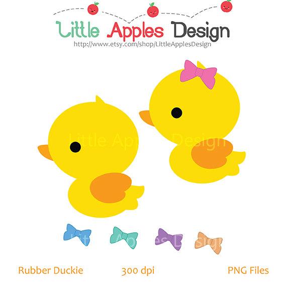 Rubber Duck Clip Art / Duck Clipart / Ru-Rubber Duck Clip Art / Duck Clipart / Rubber Duck Digital Images / Commercial u0026amp; Personal-4
