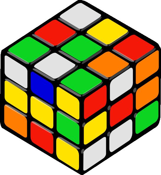 Rubik S Cube Random Clip Art At Clker Com Vector Clip Art Online