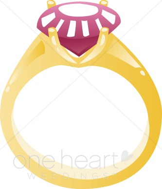 Ruby Ring Clipart