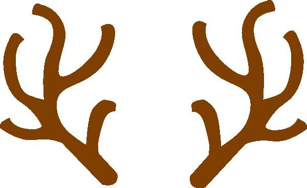 Rudolph Ears Clip Art At Clker Com Vector Clip Art Online Royalty