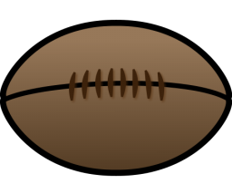 Rugby Ball Clipart-Clipartlook.com-256