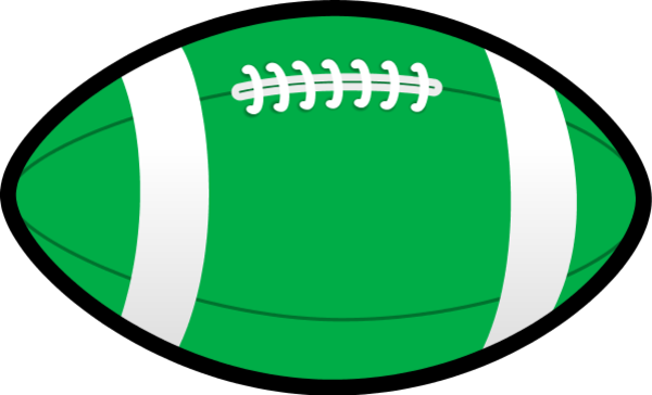 Rugby ball clipart ...