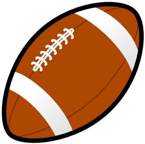 ... Rugby ball or football line art free clip art football .