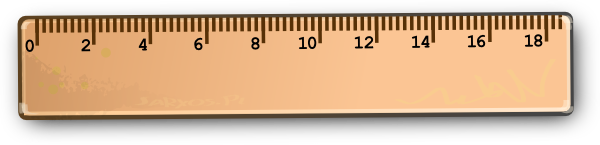 Ruler Clip Art At Clker Com V - Ruler Clip Art