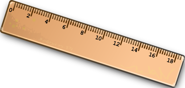Ruler Clip Art At Clker Com V