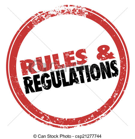 Rules and Regulations Red .