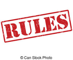 ... Rules stamp - Rules grunge rubber stamp on white, vector.