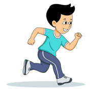 run clipart. Free Sports
