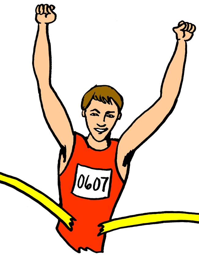 runner clipart-runner clipart-7