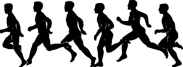 Runner running exercise clip art at vect-Runner running exercise clip art at vector clip art-11