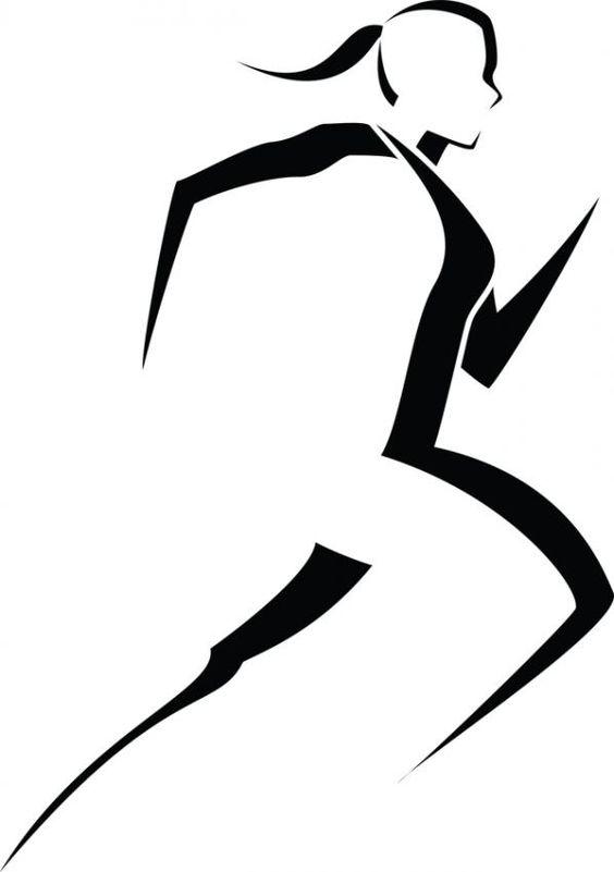 Runner Silhouette Clip Art ..-Runner Silhouette Clip Art ..-13