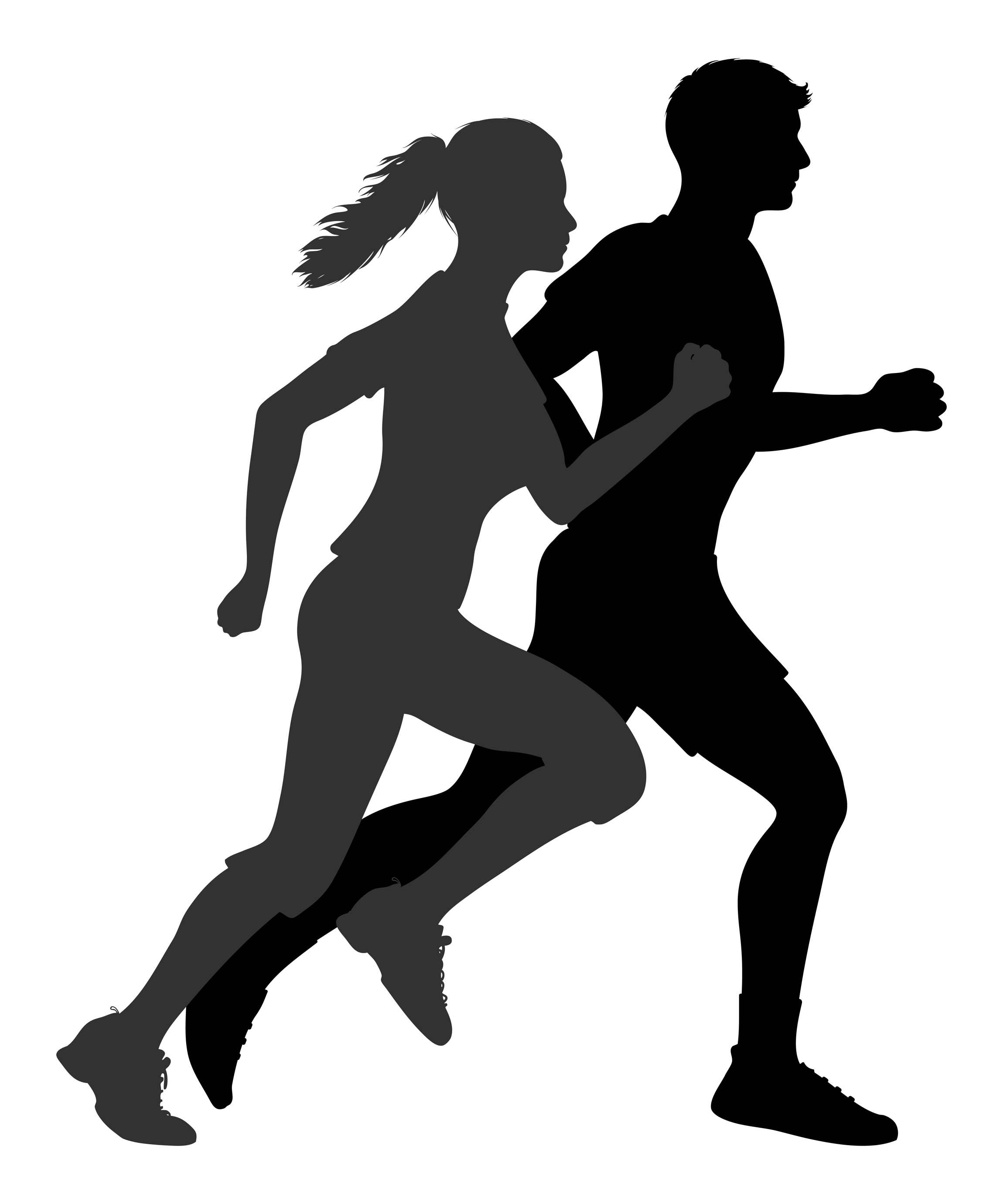 Runner Stick Figure