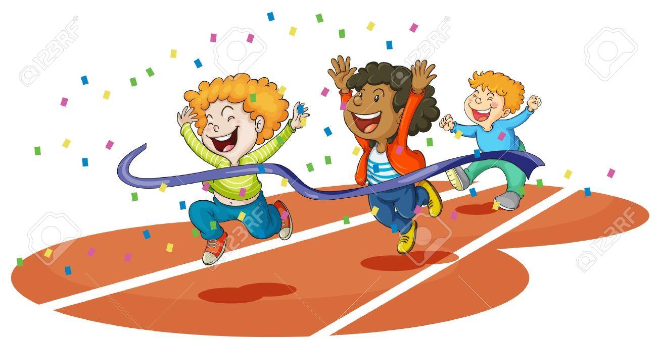 running race: illustration of .-running race: illustration of .-9
