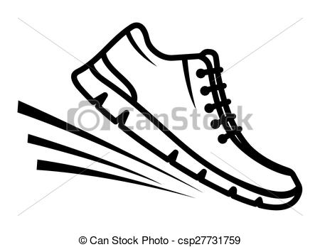 Running Shoes Clip Artby bach0052/21; Running shoes icon