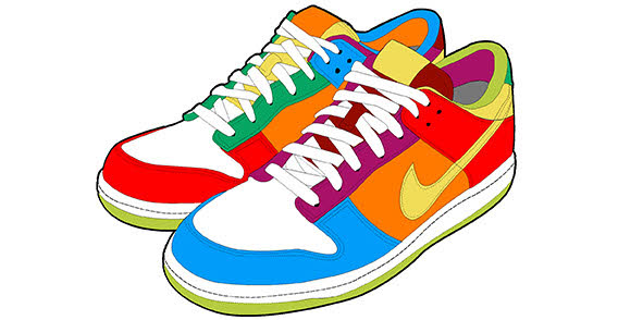 Running Shoes Clipart Clipart Panda Free Clipart Images