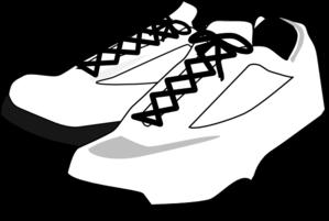 Running Shoes Clipart-running shoes clipart-8