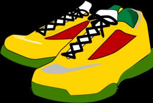 Running, Shoes Clip Art