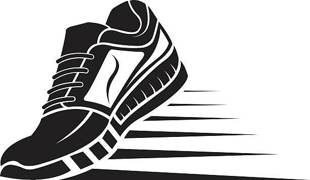 Sport Shoe Icon Vector Art Illustration-sport shoe icon vector art illustration-17
