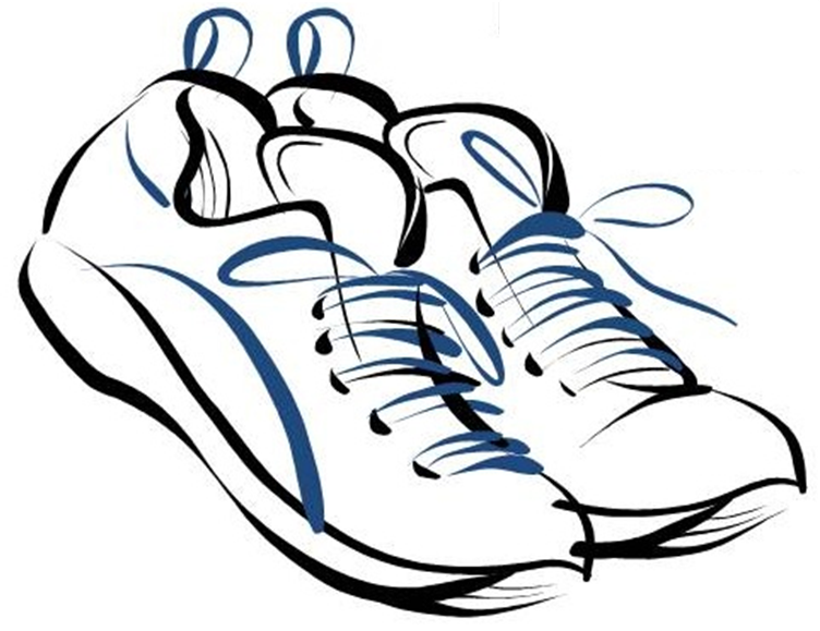 Running Shoes Drawing Clipart Panda Free Clipart Images