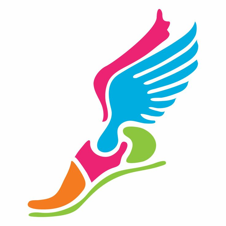 Running Shoes With Wings Clipart | Fun Fashion