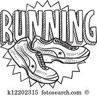 Running Sports Sketch-Running sports sketch-17