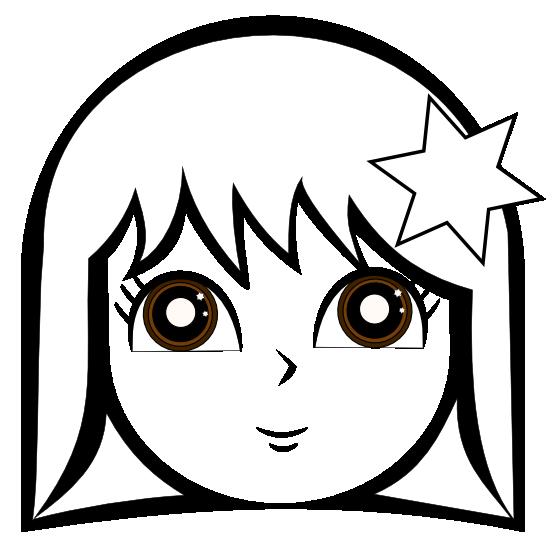 Sad Girl Clipart Black And White-sad girl clipart black and white-17