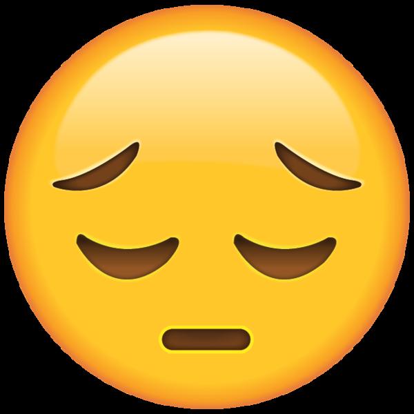 This emoji is here to save th - Sad Emoji Clipart