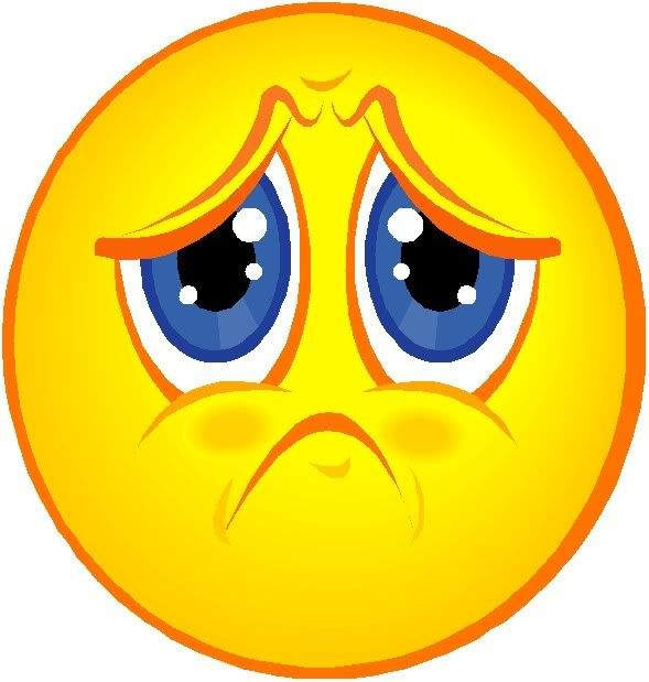 Sad Emotions Clipart #1