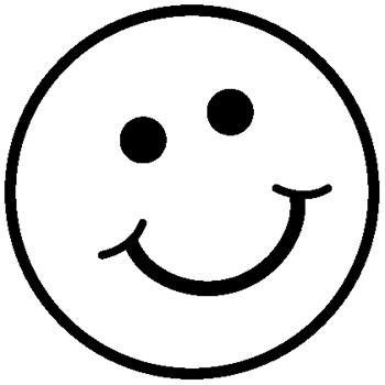 31 happy face clipart black and white clipartlook sad face voltagebd Image collections