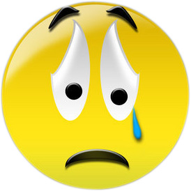 Sad face crying clipart clipartcow 2