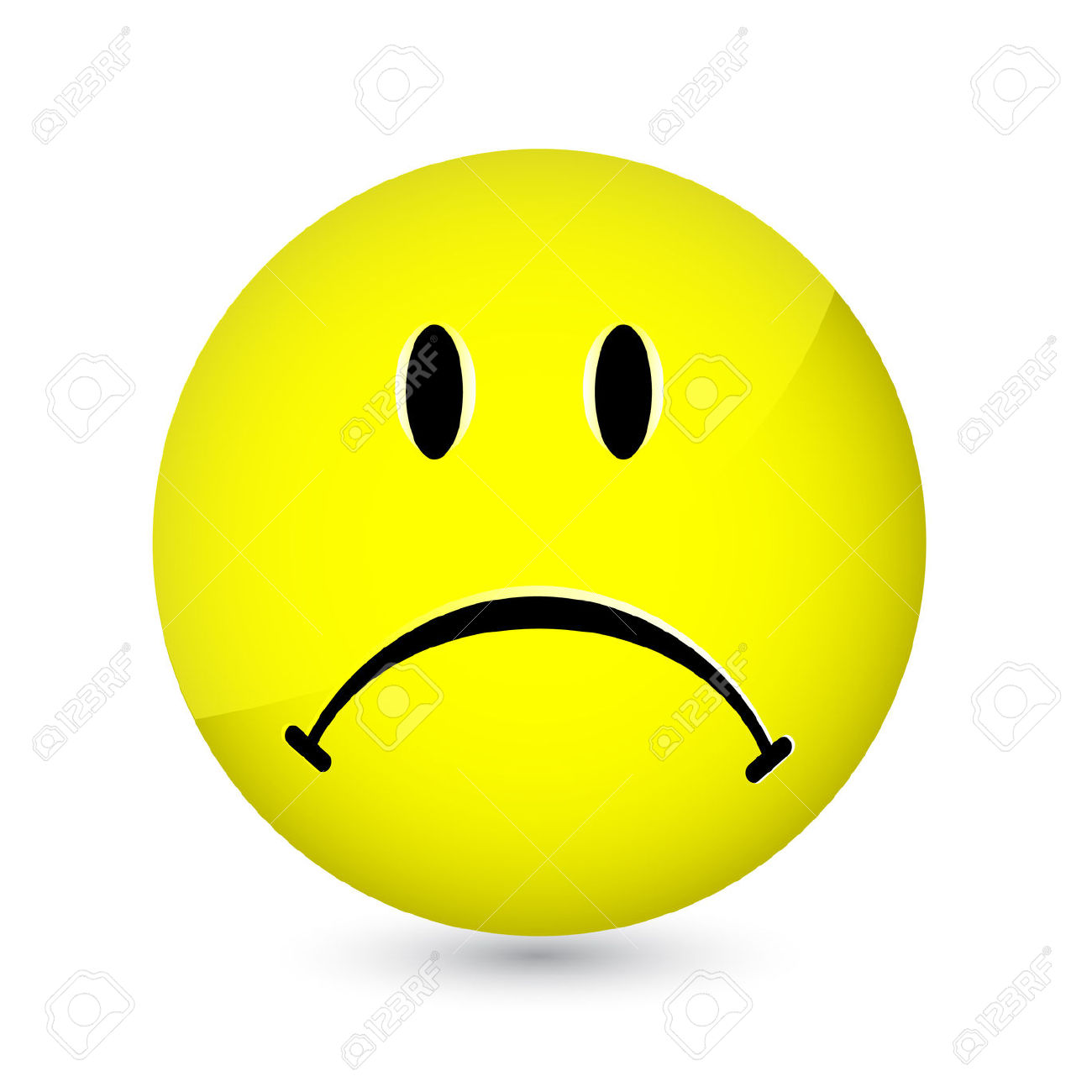 sad face images clipart