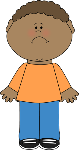 Sad Little Boy Clip Art Sad Little Boy Image