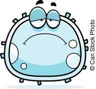 ... Sad White Blood Cell - A Cartoon Ill-... Sad White Blood Cell - A cartoon illustration of a white.-15