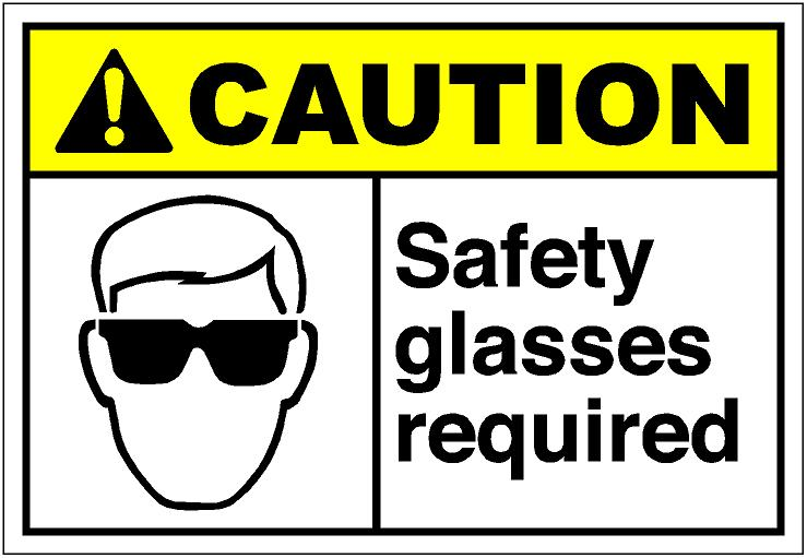 Safety Glasses Clip Art
