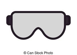 ... safety goggles icon - flat design safety goggles icon vector... ...