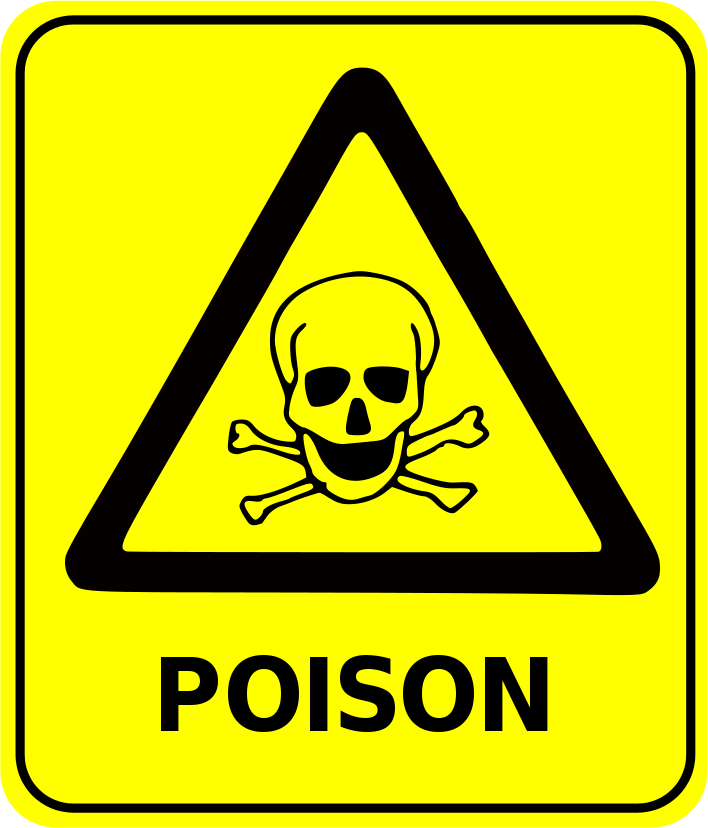 Safety Sign Poison-Safety Sign Poison-7