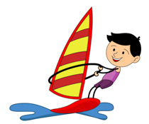 black-white-water-sports-boy-sailing-clipart. Black White Water Sports Boy Sailing  Clipart Size: 116 Kb From: Sports