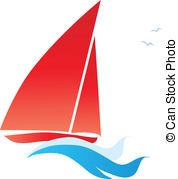 . ClipartLook.com red sail boat