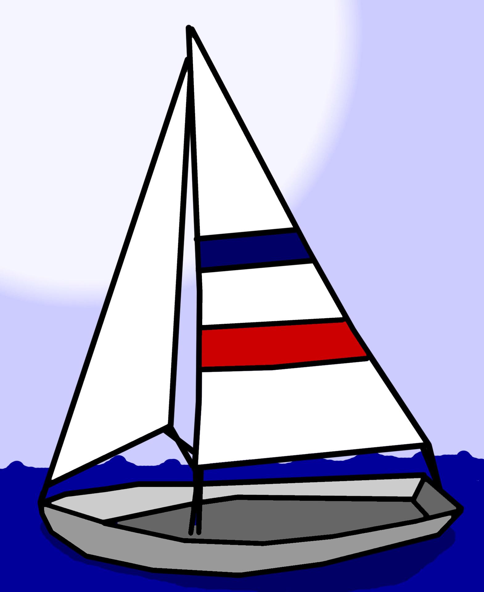 Sailboat Clip Art Free Stock Photo-Sailboat Clip Art Free Stock Photo-14