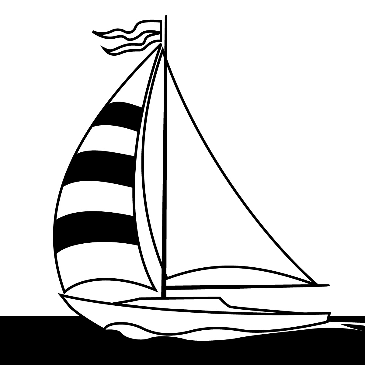 Sailboat Clip Art-Sailboat Clip Art-11