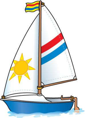 Sailboat free clip art sailing