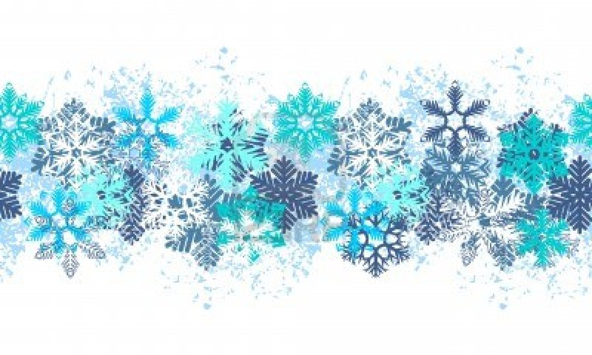 Saint Mary S School News Anno - Snowflake Clipart Border