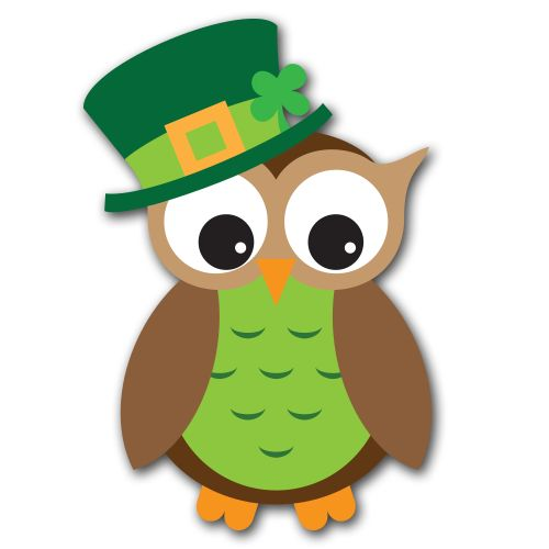 st patrick 39 s day owl clip art Quotes