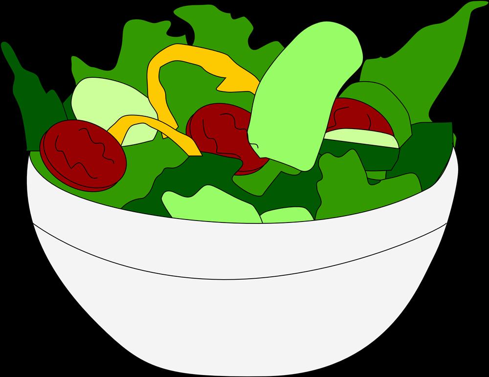 Salad clipart Vegetable clip .