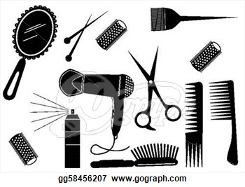 Salon Vector Clipart .