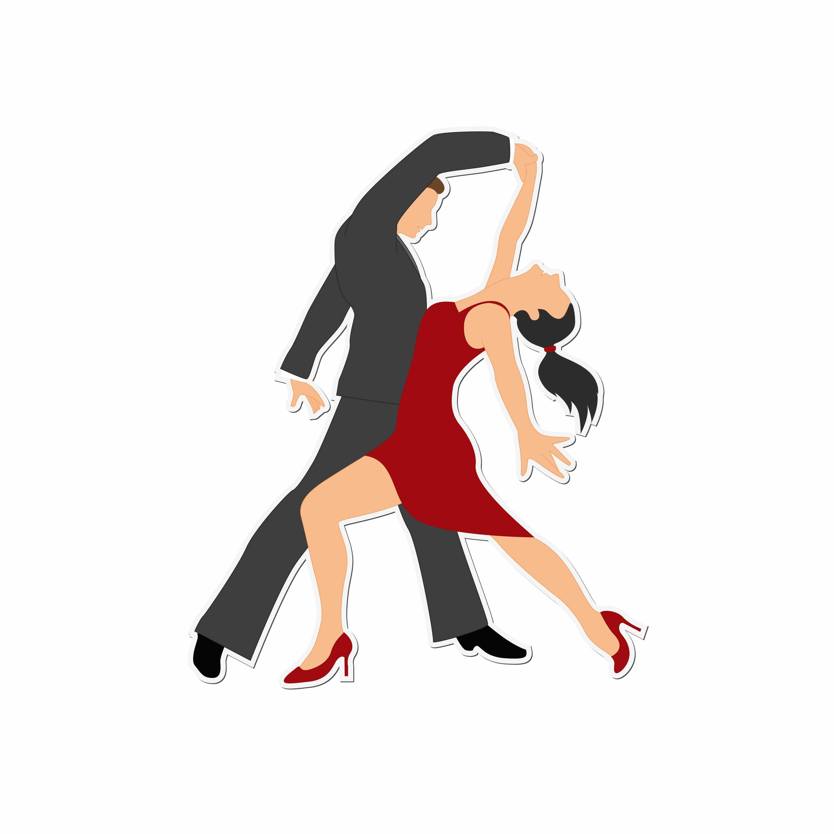 Salsa Dancers Clipart