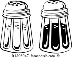 Salt And Pepper Shaker Clip Art