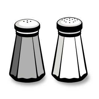 ... Salt And Pepper Shaker Clipart ...