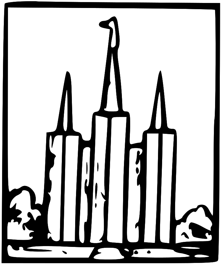 Salt Lake Temple Clipart Cliparts Co