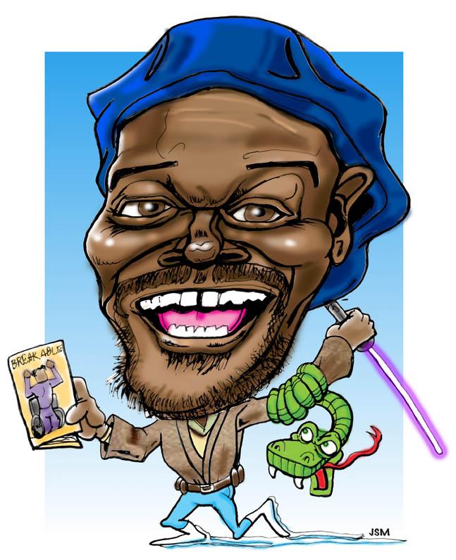 Samuel L. Jackson - Caricature By Grfxja-Samuel L. Jackson - Caricature by grfxjams ClipartLook.com -12